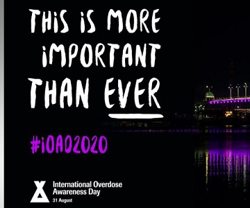 International Overdose Awareness Day — August 31