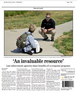 An Invaluable Resource—Law Enforcement Agencies Share Benefits of Co-Response Programs