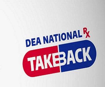 DEA's National Prescription Drug Take Back Day is October 24