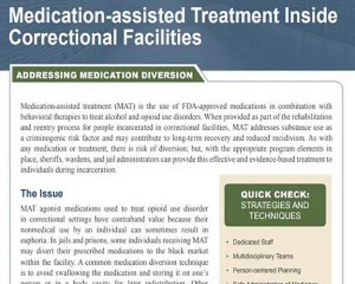 Medication-assisted Treatment Inside Correctional Facilities (thumbnail)