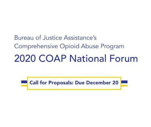 Presentation proposals are being accepted through December 20, 2019, for the 2020 COAP National Forum
